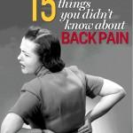 15 verbreitete Mythen zu Rückenschmerzen
